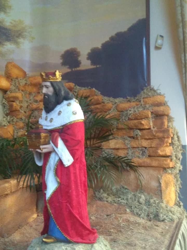 Presépio Igreja São Benedito 2019