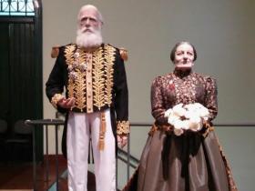 D. Pedro II e Teresa Cristina