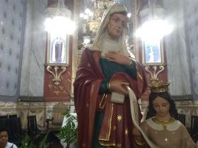 Restauração da Imagem de Nossa Senhora de Santana