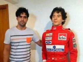 Jerônimo e Ayrton Senna